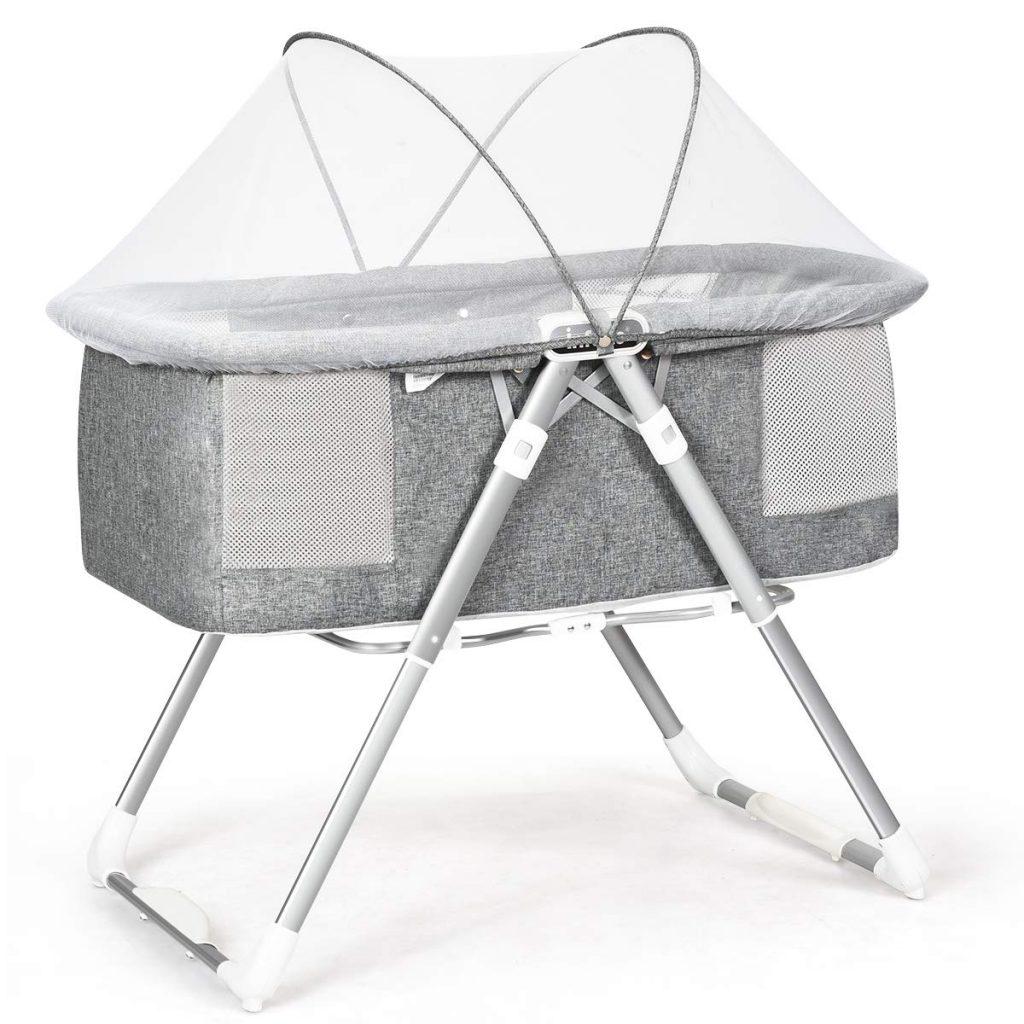2 in 1 rocking bassinet